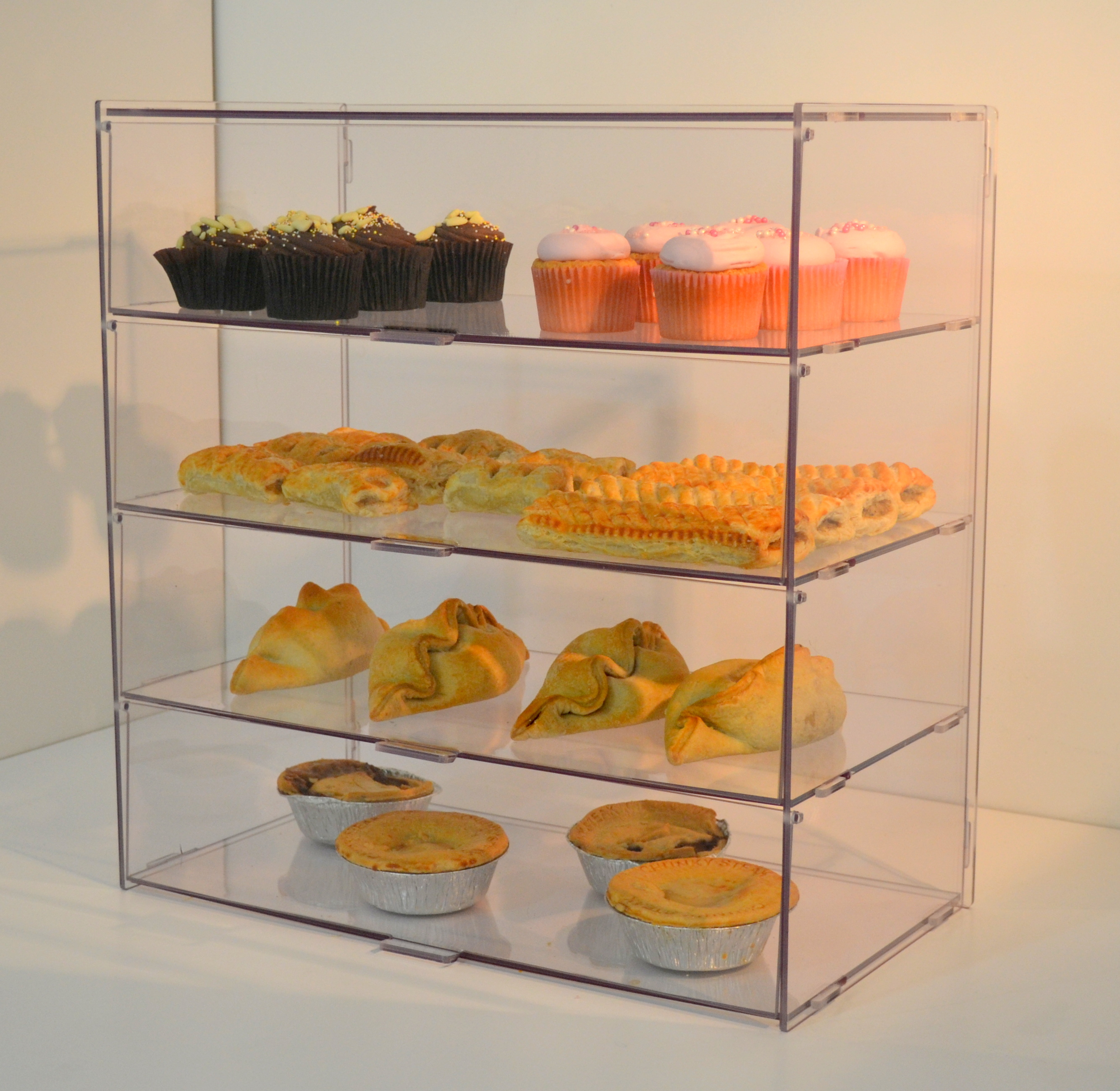 Glass Shop Display Cabinets Cakes